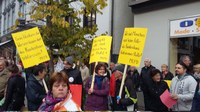 Demonstration Pro Krankenhaus Albstadt am 22.10.