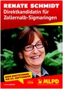 """Renate Schmidt stellt sich vor: aus Wahlzeitung """"Auf Zack"""""""